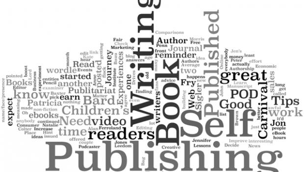 Self Publishing Word Cloud