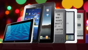 Tablets and eReaders at Christmas