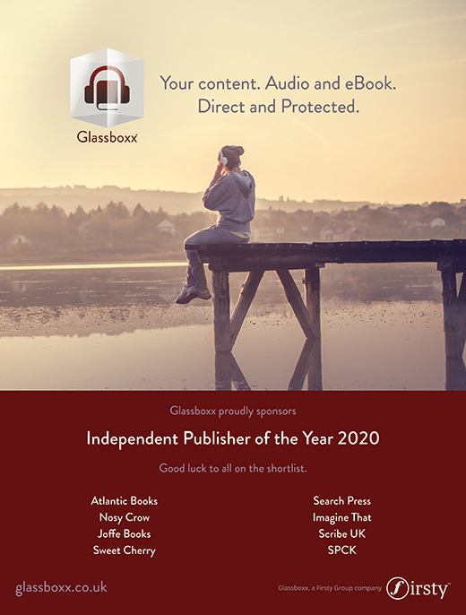 Independent publisher of the year 2020